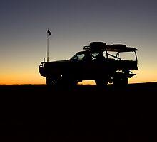 Desert Sunset by BigRed