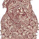 Mandala of English Bulldog by Huebucket