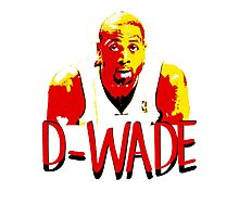 D-WADE Stencil Design Photographic Print