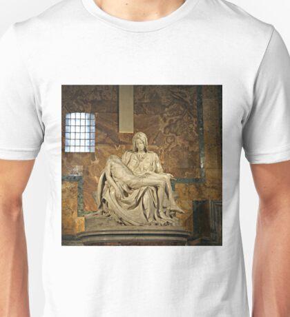 Michelangelo's Pieta in St. Peter's Basilica                                              Unisex T-Shirt