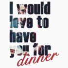 Dinner? by Marta Pais
