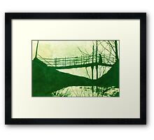 The Cold Walk Home Framed Print