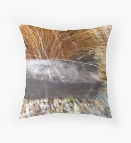 Ocean Grass Throw Pillow