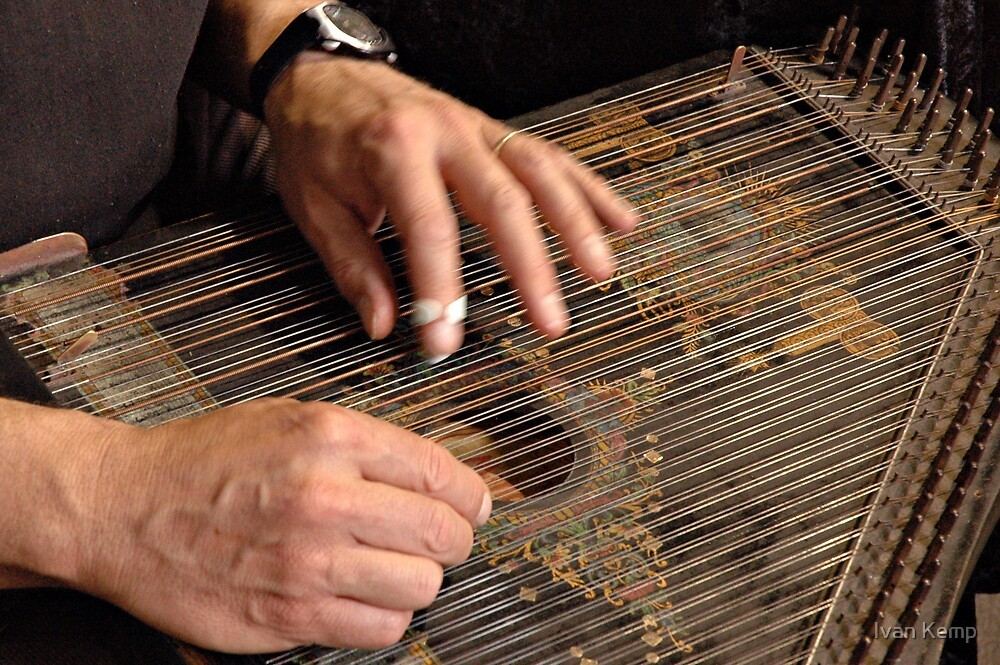Zither Hands by Ivan Kemp