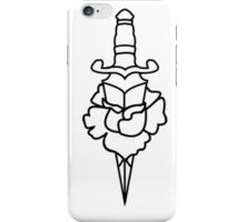 A rose for the pretty lady iPhone Case/Skin