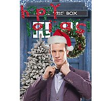 Dr. Eleventh Xmas Photographic Print