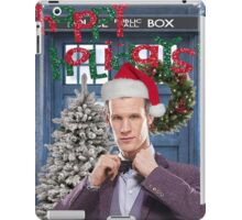Dr. Eleventh Xmas iPad Case/Skin