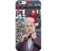 Dr. Eleventh Xmas iPhone Case/Skin