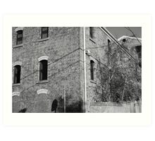 Streetscape - Richmond Art Print