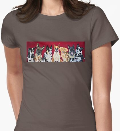 It's a Dog's Life Womens Fitted T-Shirt