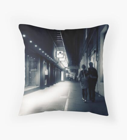 Lovers lane Throw Pillow