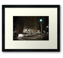 Midnight chaos Framed Print