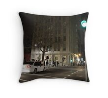 Midnight chaos Throw Pillow