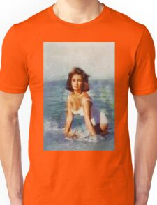Elizabeth Taylor, Vintage Hollywood Actress Unisex T-Shirt