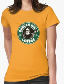 Duncan Hills Coffee (Toki) Womens Fitted T-Shirt