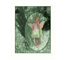 Magical Garden Pixie Art Print