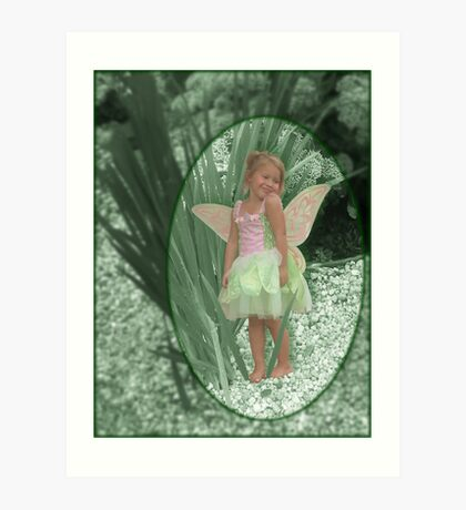 Magical Garden Pixie Art Print
