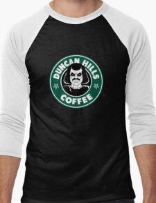 Duncan Hills Coffee (Murderface) Men's Baseball ¾ T-Shirt