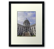 Wisconsin Capitol Building Framed Print