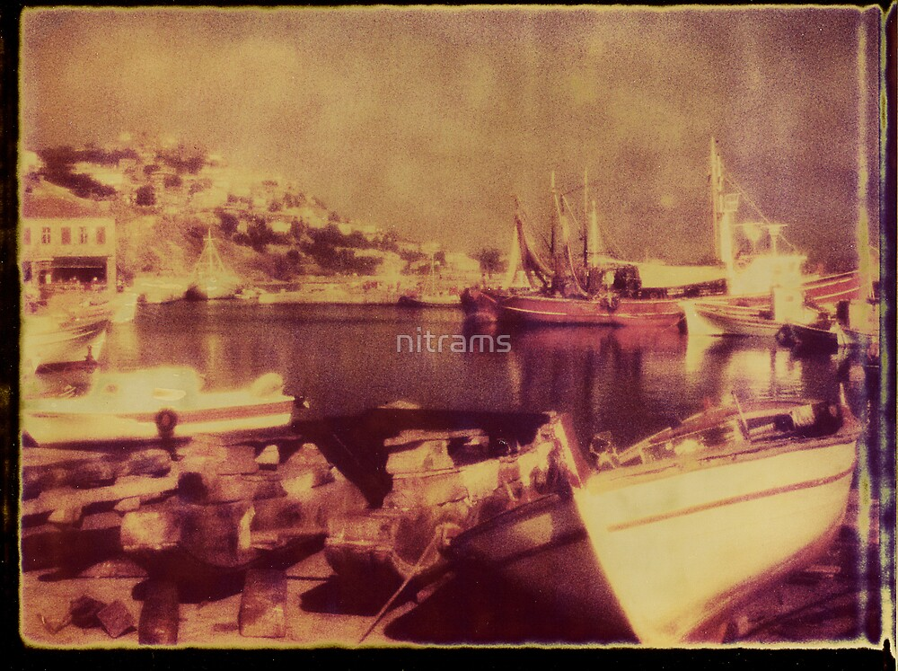 Molyvos harbour. Lesbos by nitrams
