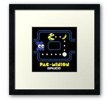 Pac-Minion shirt poster mug iphone 6 case pillow Framed Print