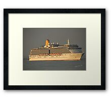 Arcadia passing Cowes Framed Print