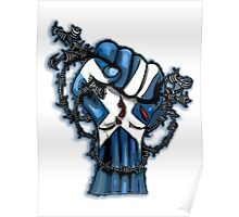 Scotland Yes Independence Fist Design Poster