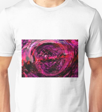 Abstract Illusion Unisex T-Shirt