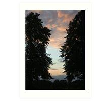 Guildford sunset Art Print