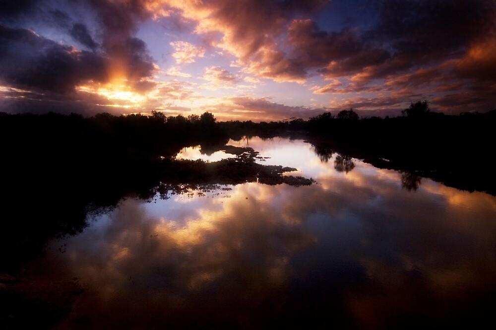 Reflection on the wheatbelt by atrei