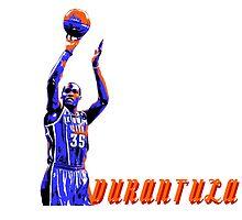 Durantula Stencil Design by nbatextile