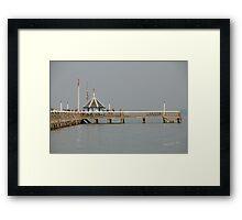 Yarmouth Pier Framed Print