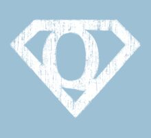 Q letter in Superman style One Piece - Short Sleeve
