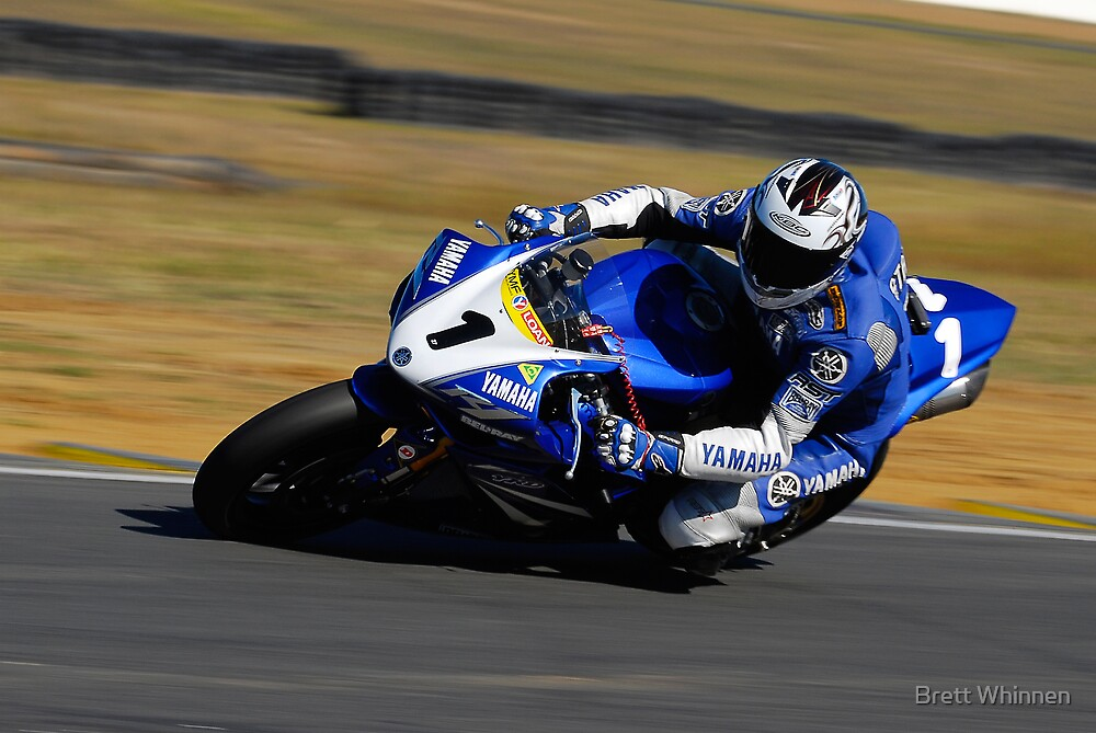 Jamie Stauffer - Superbike by Brett Whinnen