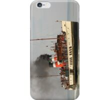 PS Waverley approaching Yarmouth Pier iPhone Case/Skin