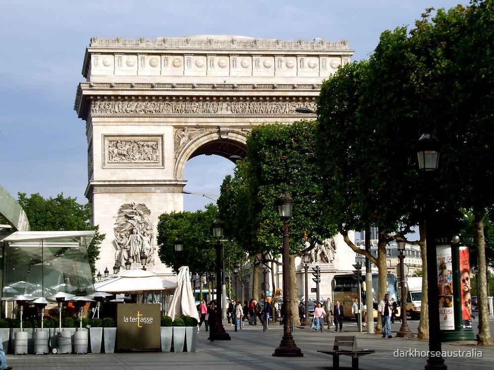 Arc de Triomphe by darkhorseaustralia