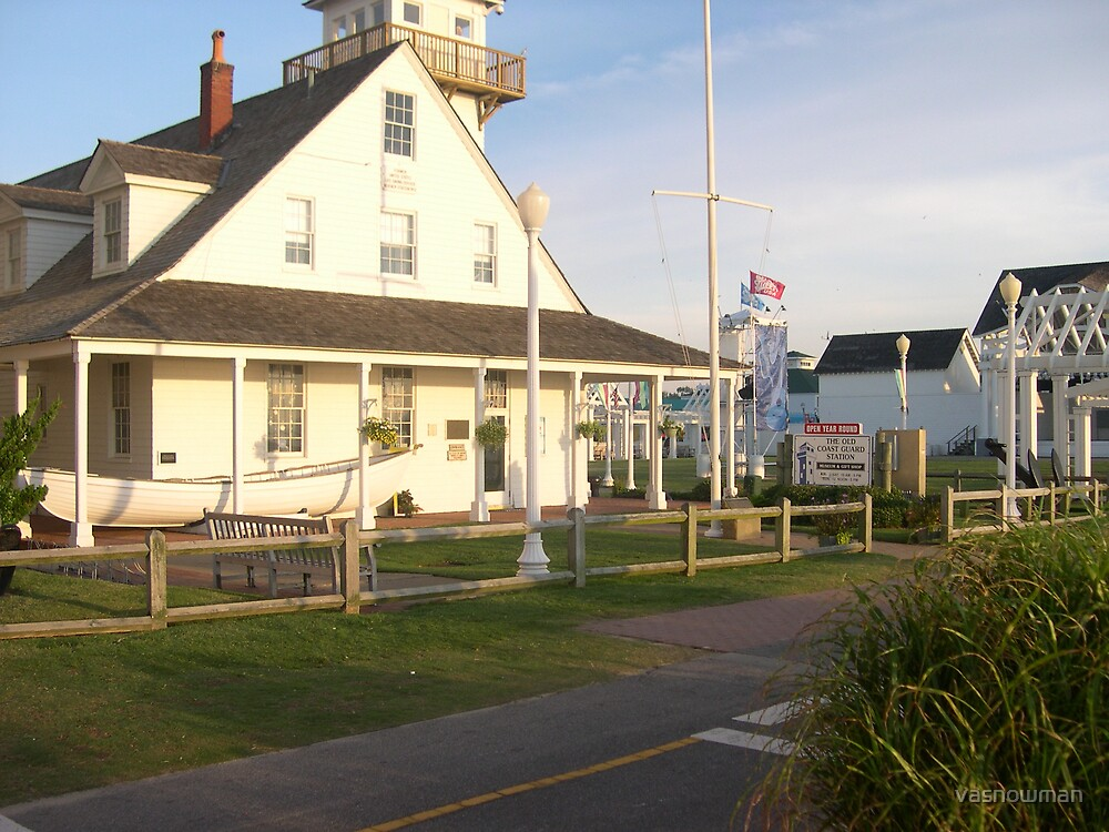 Old Coast Guard station by vasnowman
