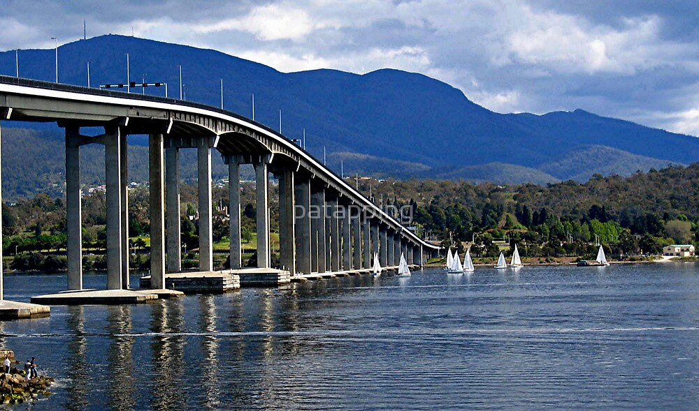 Tasman Bridge, Tasmania by patapping