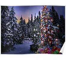 Way Outdoor Christmass Lights Poster