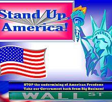 Stand up, America! by w1z111