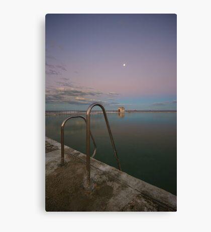 Merewether Baths at Dusk 7 Canvas Print