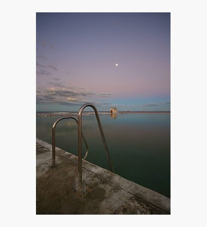 Merewether Baths at Dusk 7 Photographic Print