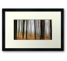 Coffee Forest Framed Print