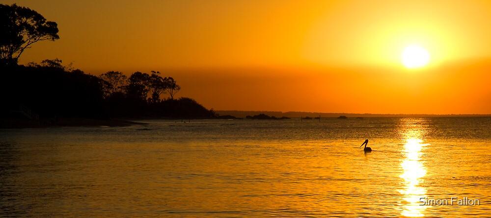 Sunset Serenity by Simon Fallon