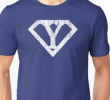 Y letter in Superman style Unisex T-Shirt