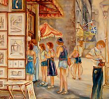 OLD MONTREAL PAINTINGS CANADIAN ART BY CANADIAN ARTIST CAROLE SPANDAU by Carole  Spandau