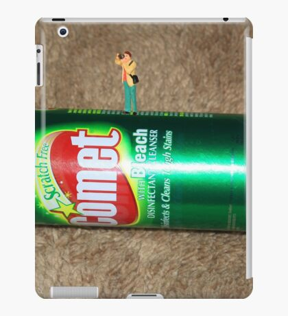 BREAKING NEWS--this just in......photos from the surface of the comet! iPad Case/Skin