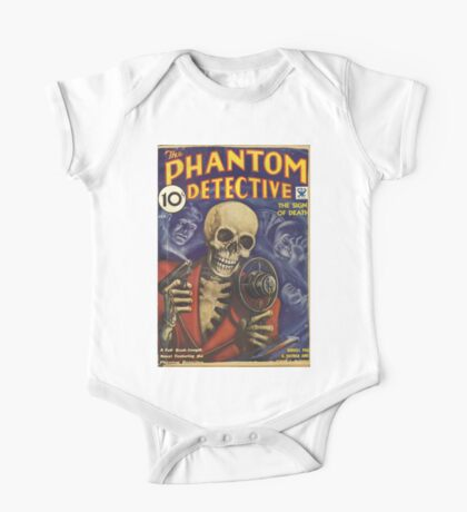 Phantom Detective Pulp Fiction One Piece - Short Sleeve