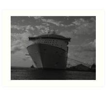 ship at rest Art Print