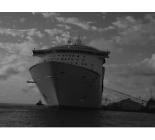 ship at rest Photographic Print